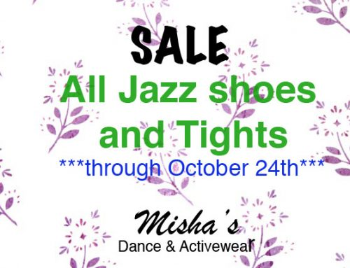 SALE ~ Misha's Dance & Activewear